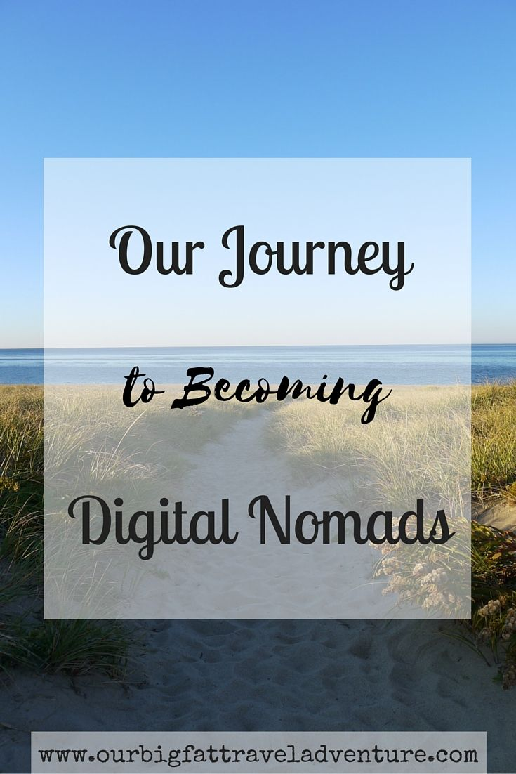 Our Journey to becoming Digital Nomads, Pinterest
