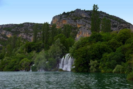 Roski Slap Waterfall in Dalmatia, Croatia