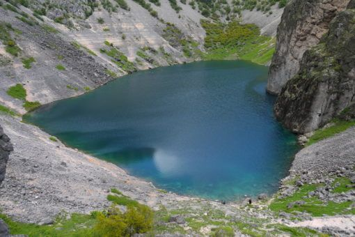 The Blue Lake, Imotski, Croatia
