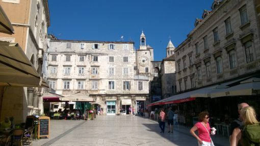 Narodni Trg Square in Split, Croatia