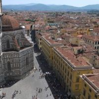 View of Florence, Italy, from the Bell Tower