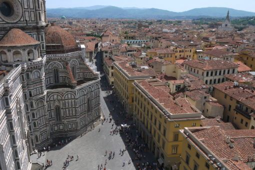 The View over Florence from the Bell Tower
