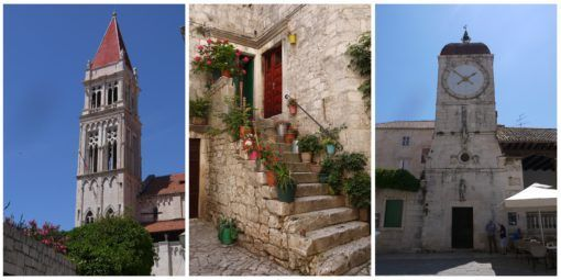 Collage of Trogir, Croatia pictures