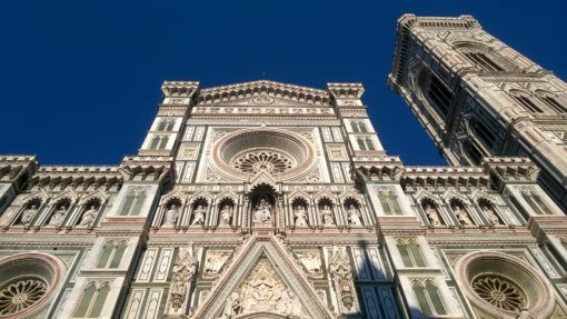 The Cathedral and Bell Tower in Florence