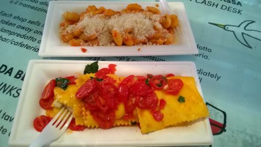Ravioli and Gnocchi from the Mercato Centale in Florence