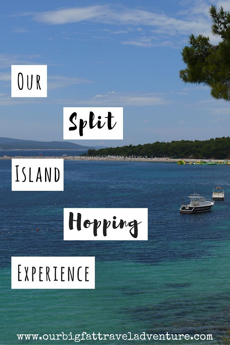 our split island hopping experience, Pinterest
