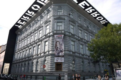 House of Terror Museum in Budapest, Hungary