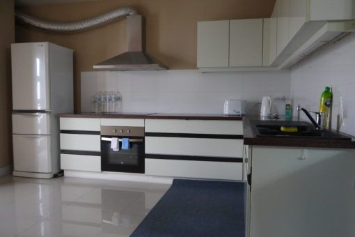 The kitchen in our apartment in Chiang Mai