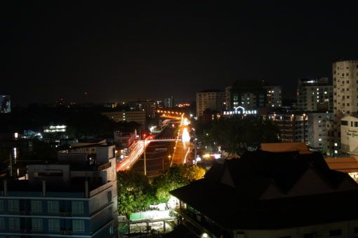Night-time view of Chiang Mai