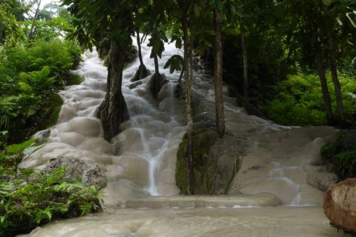 Sticky Waterfalls, Thailand