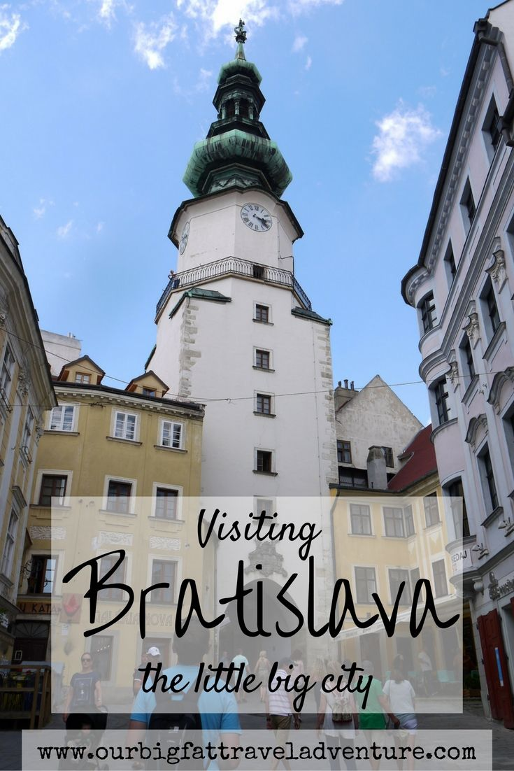Visiting Bratislava, the little big city, Pinterest
