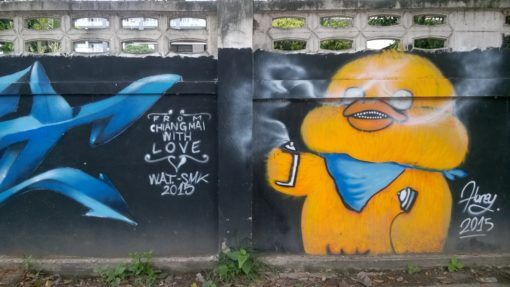 Chiang Mai With Love Street Art