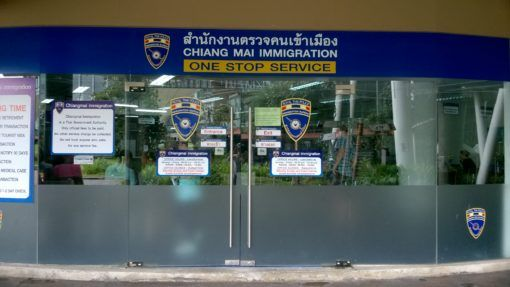 The Chiang Mai Immigration Office in Thailand