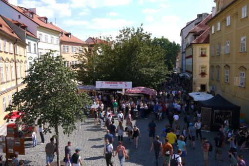 French Bastille Day Festival in Prague