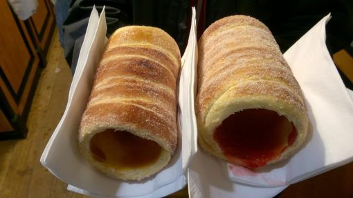 Prague Chimney Cake with Jam