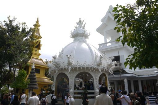 The wishing well at the White Temple Chiang Rai