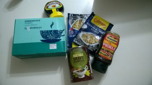 British food goodies sent by parcel to Vietnam