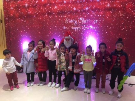 Teaching English in China at Christmas