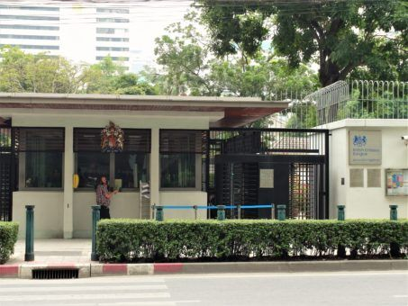 British Embassy in Bangkok