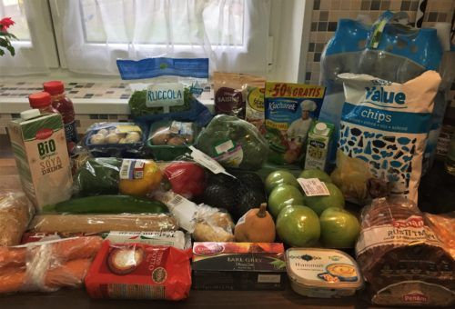 Tesco grocery haul in Prague, Czech Republic 2017