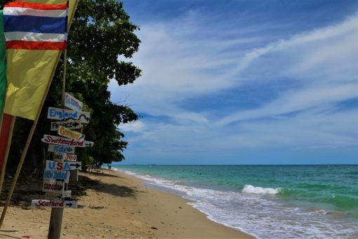 The beautiful beaches on Koh Lanta Thailand