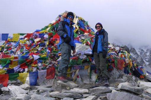 Us at Everest Base Camp, Nepal