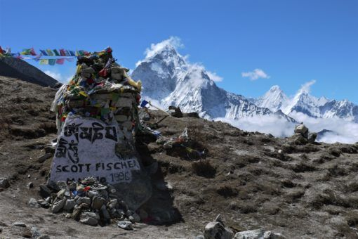 Scott Fischer Memorial in Nepal