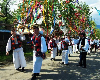 Plenty of cultural activity in Breb, Romania
