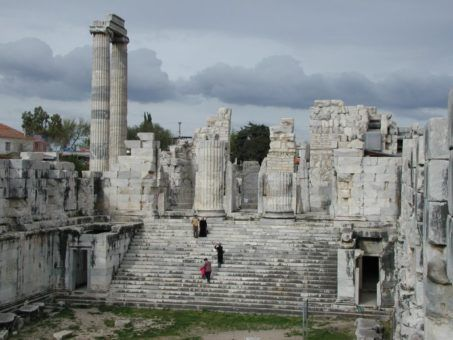 Historical sights in Didim, Turkey