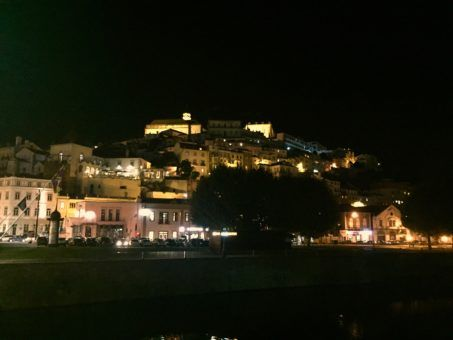 Coimbra by night, Portugal