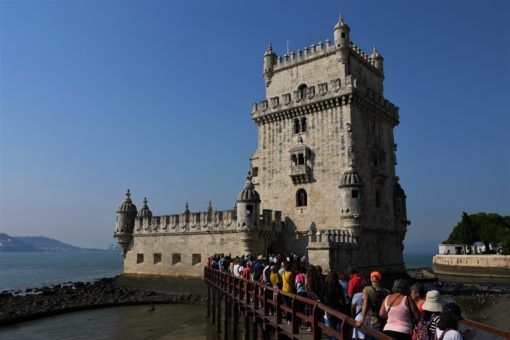 The Torre de Belem, near Lisbon