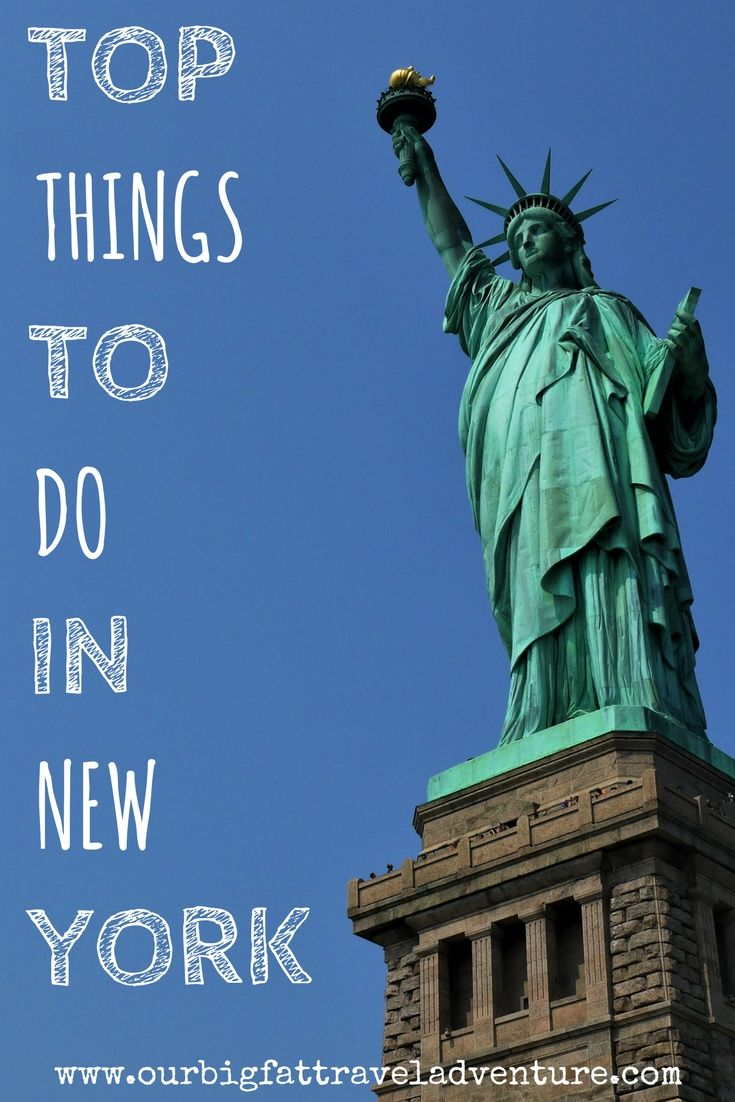 Top things to do in new york our big fat travel adventure for Top ten things to do in ny