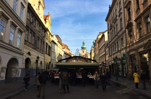 Havel's Market, Prague, Czech Republic