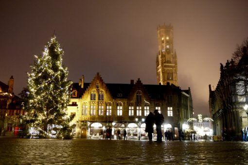 Berg, in Bruges at Christmas