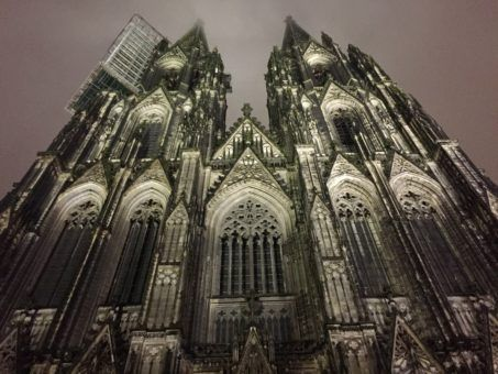 Kolner Dom, the mighty cathedral in Cologne