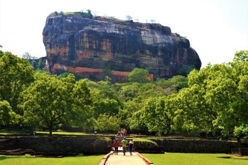 Hiking Sigiriya Rock in Sri Lanka