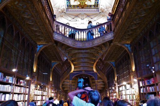 The Livraria Lello, Porto, Portugal