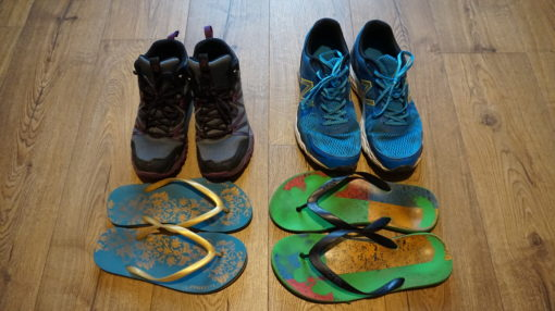 Our footwear for travelling in South America
