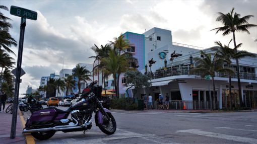 Ocean Drive and 8th Street, Miami Beach