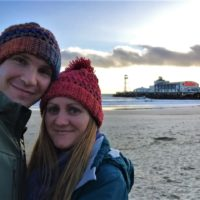 A Winter selfie with Bournemouth Pier