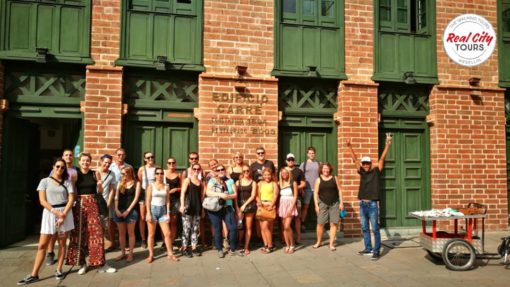Our Real City Tour group in Medellin Colombia