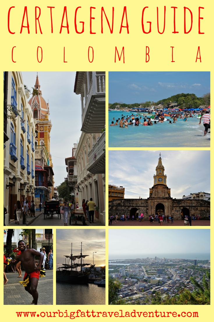 cartagena guide, colombia, pinterest pin