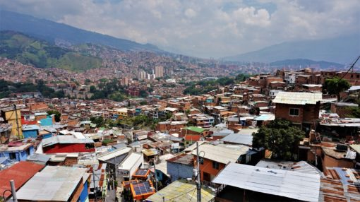 View of Medellin from Communa 13