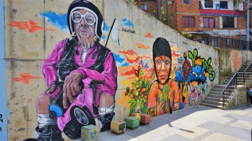 Communa 13 graffiti tour, one of the best Medellin city tours