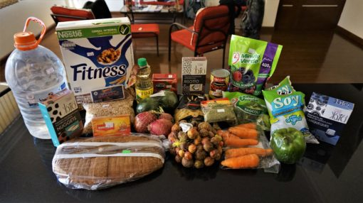 Supermarket haul in Bolivia