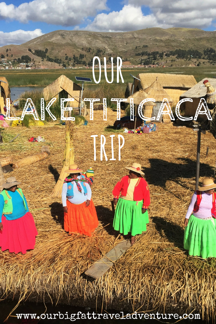 our lake titicaca trip pinterest pin
