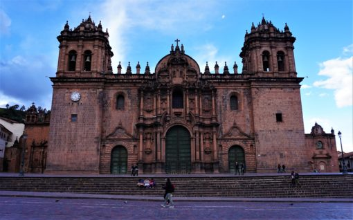Cusco lies 3,400 metres above sea level