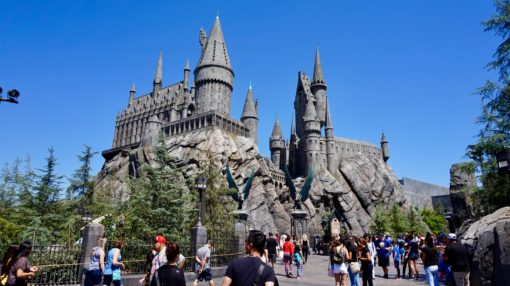 Hogwarts Castle at the Wizarding World of Harry Potter, Universal Studios Hollywood