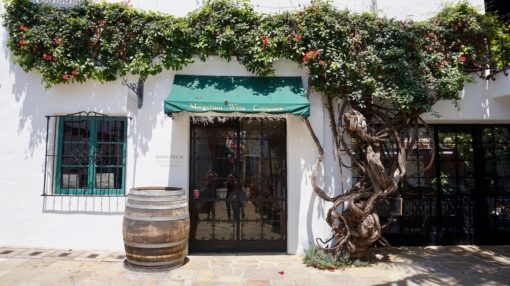 Pretty wine room in Santa Barbara, California
