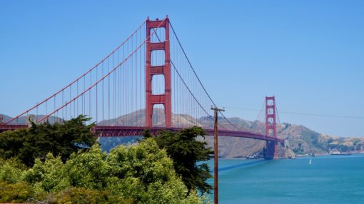 The Golden Gate Bridge, San Francisco California